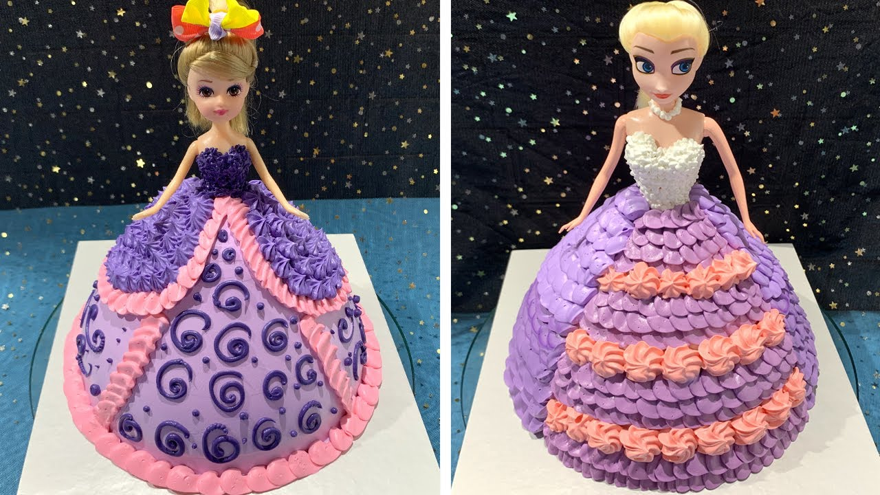 So Cute Barbie Cake Decorating Ideas | Most Satisfying Doll Cake Decorating | So Yumy Cake