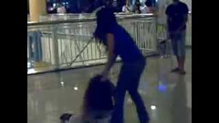 Wife catches Mistress and fights her inside a Public Mall in the Philippines
