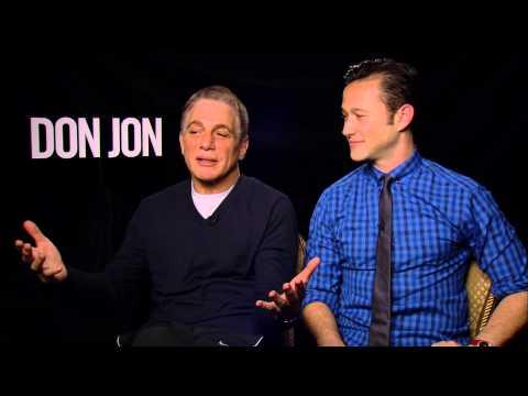 Don Jon Interview With Joseph Gordon-Levitt & Tony Danza