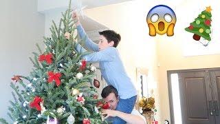 CHRISTMAS TREE FAIL!!