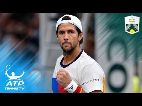 Nadal, Verdasco & Del Potro reach quarter-finals | Rolex Paris Masters Highlights Day 4