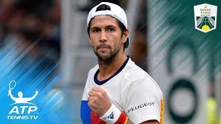 Nadal, Verdasco & Del Potro reach quarter-finals   Rolex Paris Masters Highlights Day 4
