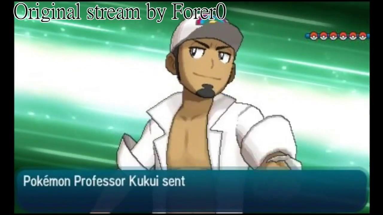 sun moon v s professor kukui part 1