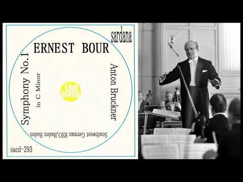 """Bruckner """"Symphony No 1"""" Ernest Bour"""