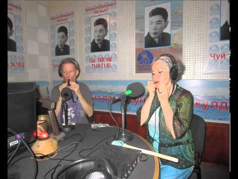 Michael Ormiston & Candida Valentino, Live on Kyrgyz Radio 23rd July 2015