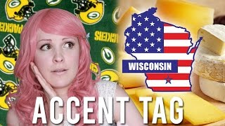 ACCENT TAG ~ Wisconsin, USA