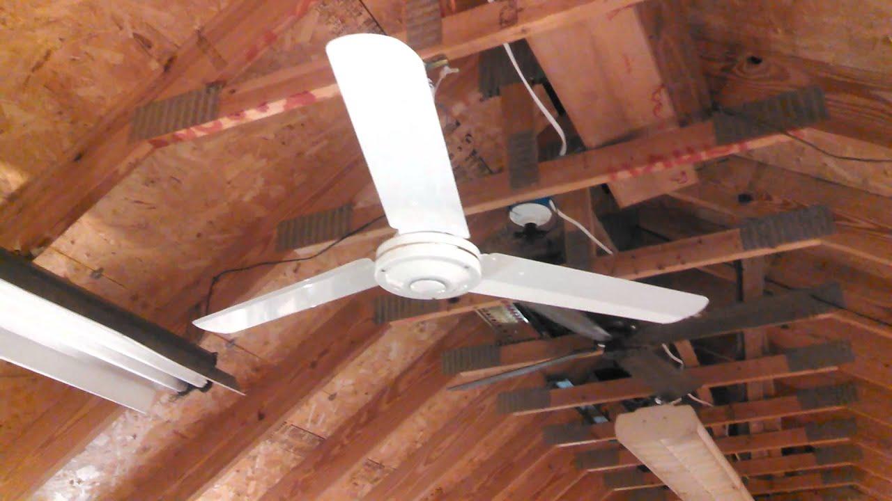 Nutone 48 Quot Proline Iii Commercial Industrial Ceiling Fan