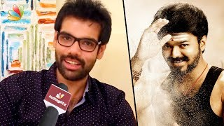 Sibiraj wishes Vijay for birthday & Thalapathy 61 look release | Mersal, Sathya Interview