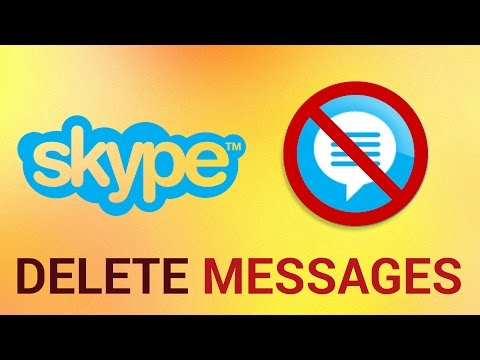 How To Delete Messages On Skype On PC