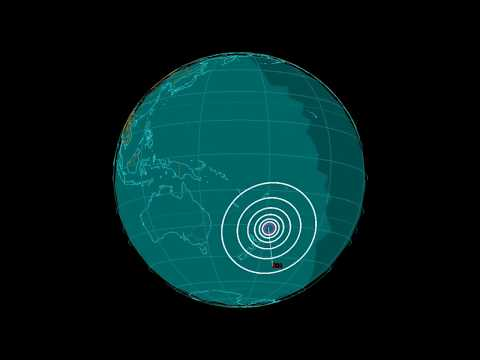 EQ3D ALERT: 12/7/17 - 6.2 magnitude earthquake in the South Pacific Ocean