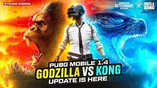 GODZILLA VS KONG NEW UPDATE | BATTLE GROUND MOBILE INDIA