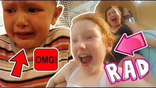 SCARY EMERGENCY HOTEL EVACUATION! + WATER PARK TO OURSELVES!!