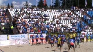 Евро-2017 по пляжному регби. Россия - Италия