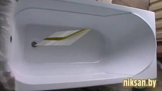 Обзор акриловой ванны West  ТМ Aqvanet пр ва РФ