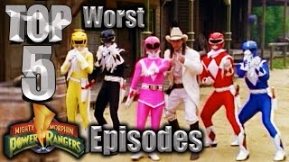 Top 5 Worst Mighty Morphin Power Rangers Episodes
