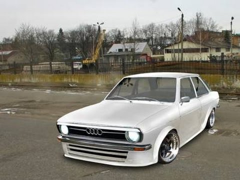 1683.AUDI 80 B1 BEST TUNING HD(АВТО БЛОГ 2017)