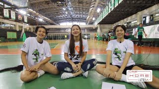DLSU - Volley Friends Campus Invasion