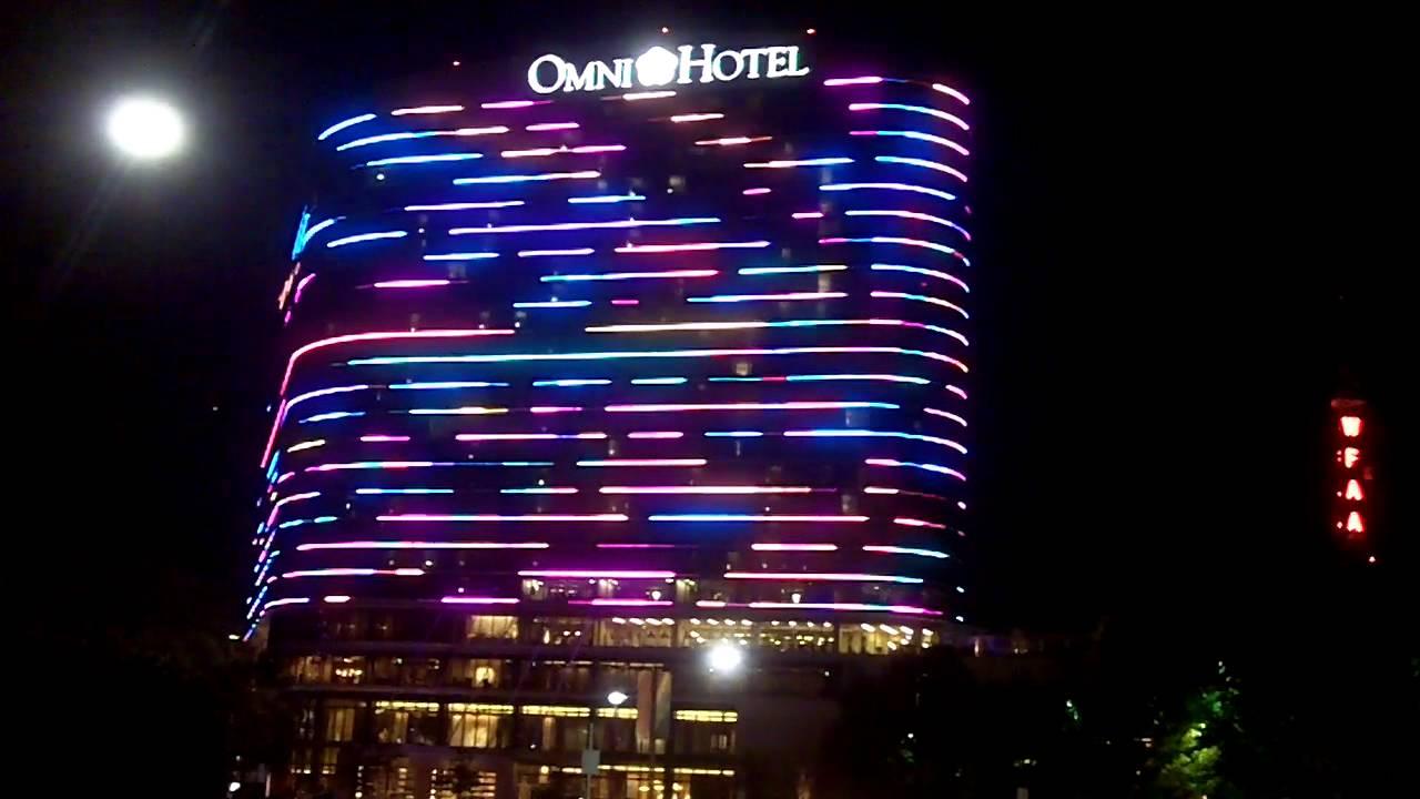 The New Omni Hotel In Dallas