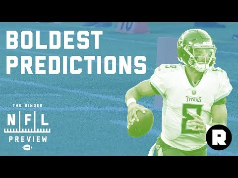 What's Your Boldest NFL Prediction? | 2018 NFL Preview | The Ringer