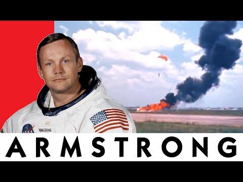 Neil Armstrong crash le LLRV à l'entrainement !