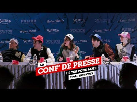 La conf de presse - EP08 - Cinéma d'horreur