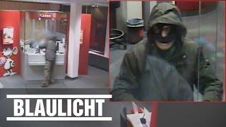 Banküberfall in Hamburg - Polizei sucht den Täter