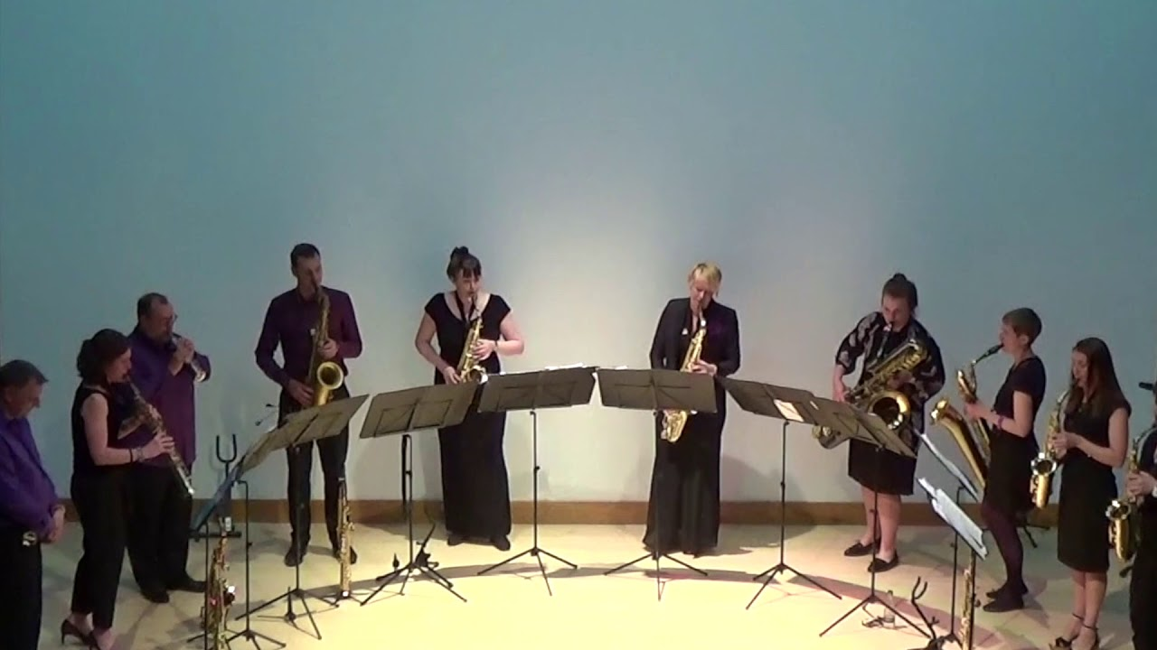 Danny Boy & Amazing Grace - saxophone ensemble