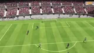 FIFA 15 / XBOX 360 / Gameplay / Обзор игры / HD 1080