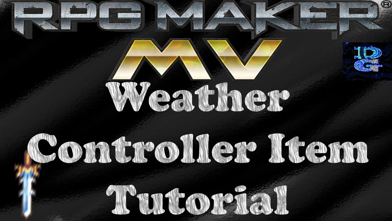 RPG Maker MV Weather Controller Tutorial