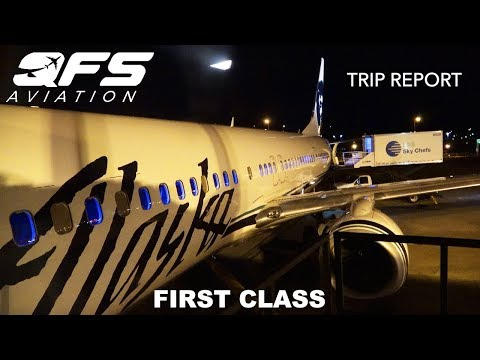 TRIP REPORT | Alaska Airlines - 737 900 - Seattle (SEA) to New York (JFK) | First Class