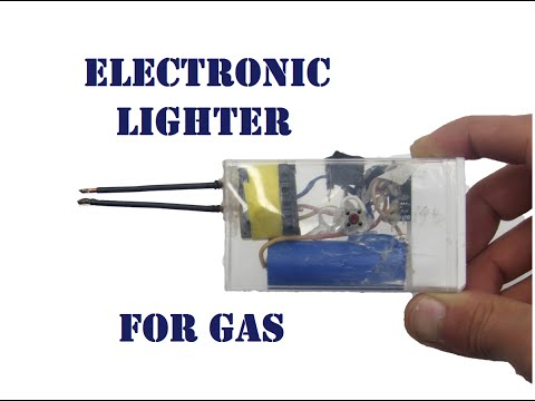 How to do an electronic arc lighter with own hands - YouTube Gas Lighter Wiring Diagram on