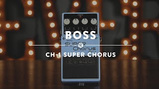 Boss CH-1 Super Chorus | Reverb Demo Video