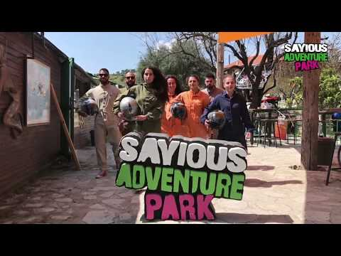 Teambuilding Games At Sayious Adventure Park, Limassol, Cyprus