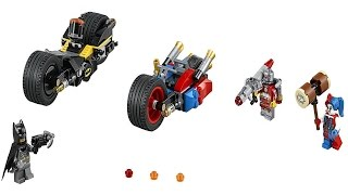 LEGO 76053 Batman Gotham City Cycle Chase Super Heroes (Instruction Booklet)