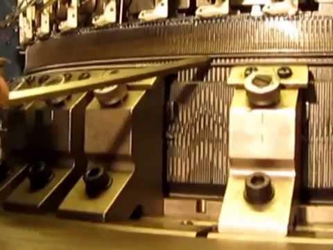 Rib Knitting Machine Tutorial from BUTex by Emdad Serkar _ Bappi