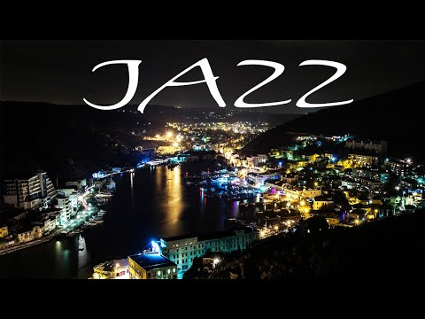 Midnight Saxophone JAZZ - Black Night City JAZZ for Calm - Chill Out Music
