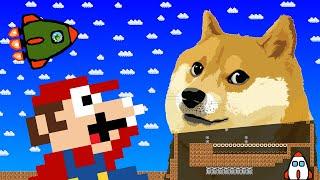 Mario's Giant Doge Maze Madness