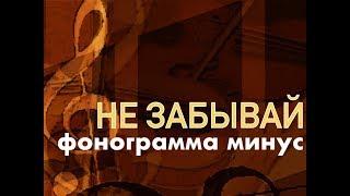НЕ ЗАБЫВАЙ БЛАГОДАРИТЬ - фонограмма минус NEW 2018 (ссылка на песню под видео)