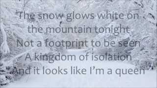 Demi Lovato - Let It Go LYRICS (from Frozen)