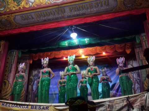 Janger Sri Budoyo Pangestu live Glenmore part 4 Lagu Umbul Umbul Belambangan