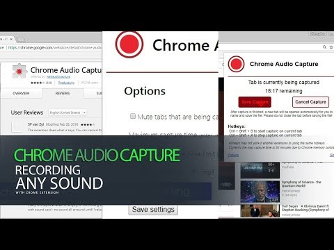 Chrome Audio Capture Recording All Sound Software With Chrome Ext