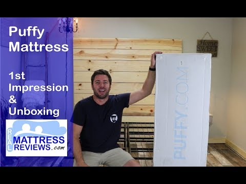Puffy Mattress 1st Impression & Unboxing | Puffy | Puffy Bed Review