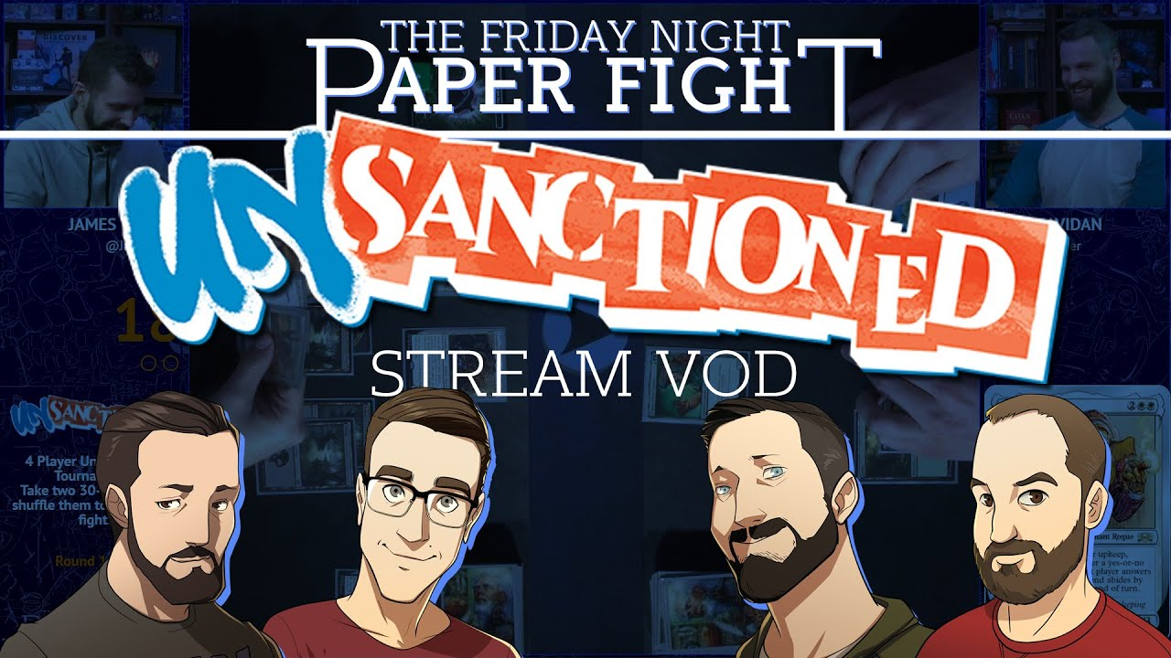 Download Unsanctioned Tournament    Friday Night Paper Fight