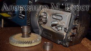 Как починить электропилу \ Останавливается под нагрузкой \ Saws repair \ Замена пружины, шестерёнки
