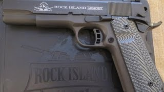 Rock Island Armory 1911 Tactical 2 FS Pistol Unboxing