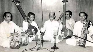 Pt.  Krishnarao Shankar Pandit - Raga Kafi Hori