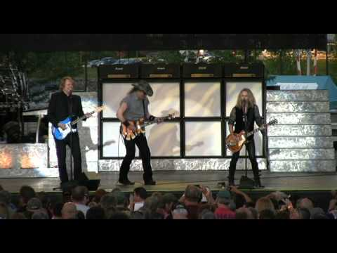 """Ted Nugent and Tommy Shaw  """"Coming of Age""""  Bangor, Maine  July 8, 2012"""
