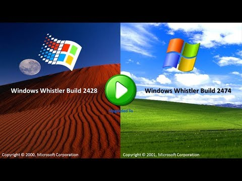 Upgrading Windows Whistler Build 2428 To Windows Whistler Build 2474