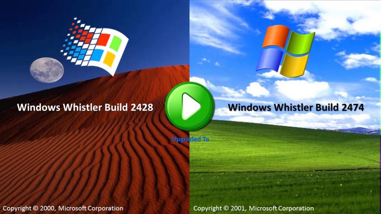 windows whistler build 2419 iso