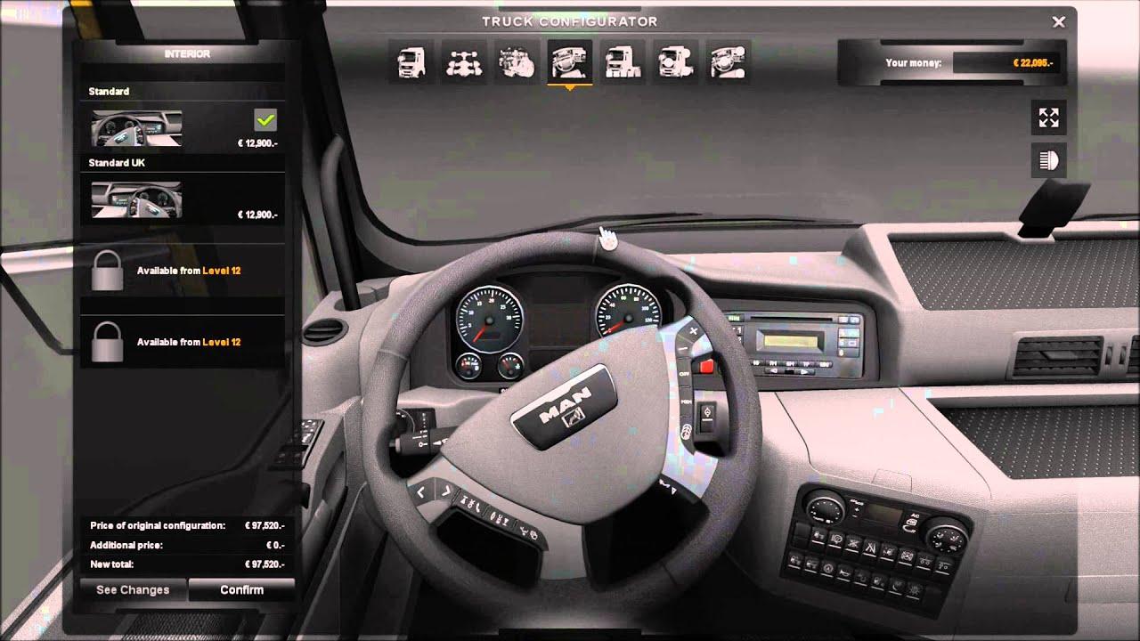 Euro Truck Simulator 2 Man Truck Dealership Youtube